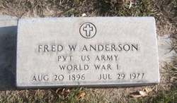 """Fred W. """"Swede"""" Anderson"""
