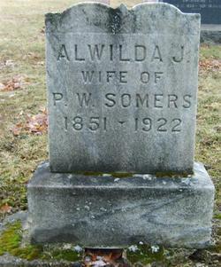 Alwilda Jane <I>Babcock</I> Somers