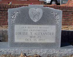 Louise <I>Thompson</I> Alexander