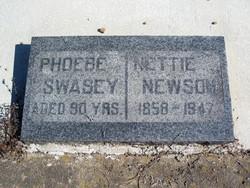 """Annette """"Nettie"""" <I>Swasey</I> Newsom"""