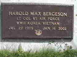 Harold Max Bergeson