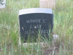 Minnie E. <I>Givens</I> Clay