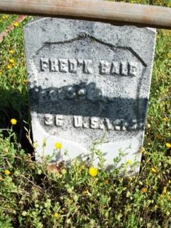 Pvt Frederick Bale