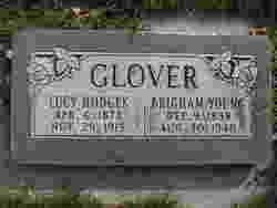 Lucy <I>Hodges</I> Glover
