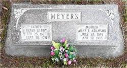 Annie Elizabeth <I>Adamson</I> Meyers Nunley