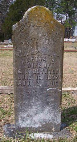 Martha C <I>Dunn</I> Boynton