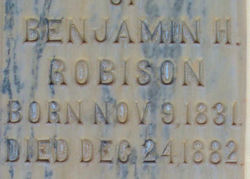 Benjamin Hancock Robison