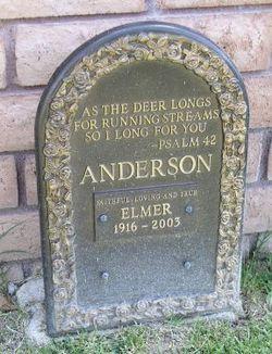 Elmer Anderson