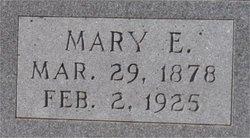 Mary E. <I>Williamson</I> Cooper