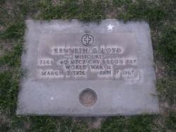 """Kenneth B. """"Bud"""" Loyd"""