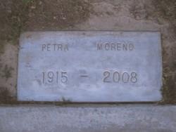 Petra <I>Ramirez</I> Moreno