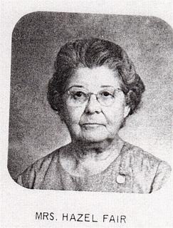 Hazel Marie <I>Hawkins</I> Fair