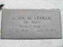 John M. Lesnan