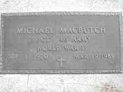 Michael Macbutch
