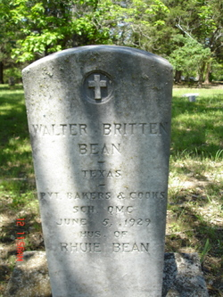 Walter Britten Bean
