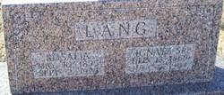 Ignatz Lang, Sr
