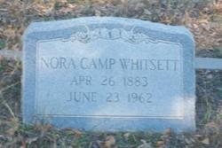 Nora <I>Camp</I> Whitsett