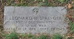 Leonard Hinkson Springer