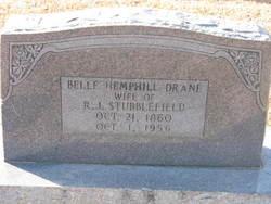 Belle Hemphill <I>Drane</I> Stubblefield
