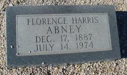 Florence Effie <I>Harris</I> Abney