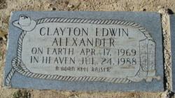 Clayton Edwin Alexander