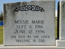 Missie Marie <I>Savant</I> Augustine