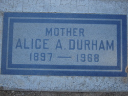 Alice Arabella <I>Read</I> Durham