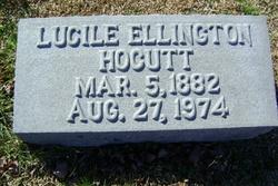 Mary Lucille <I>Ellington</I> Hocutt
