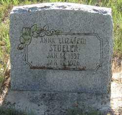 Anna Elizabeth <I>Dittmar</I> Stueler