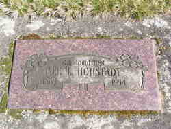 Lela Lee <I>Billups</I> Hohstadt