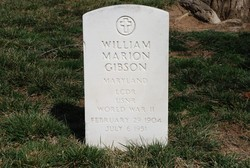 LCDR William Marion Gibson