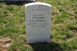 """Orene Esther """"Grace"""" <I>Krahnke</I> Gibson"""