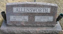 Minnie Mae <I>Gravett</I> Allensworth