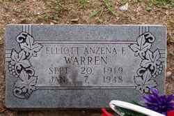 Elliott Anzena <I>Fisher</I> Warren