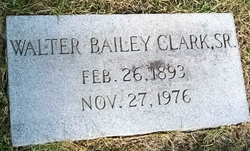 Walter Bailey Clark, Sr