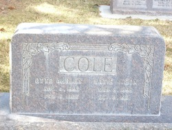 Otto Aurley Cole