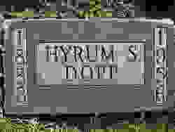 Hyrum Smith Dopp