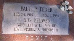 Paul P Feder