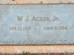 William Joseph Acker, Jr
