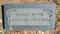 Jeanne <I>Oliver</I> Bland