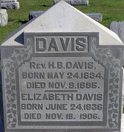 Rev. H B Davis