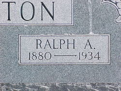 "Radford Angel ""Ralph"" Barton"