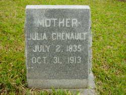 Julia <I>Hunter</I> Chenault
