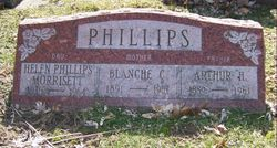 Blanch Clara <I>Hinshaw</I> Phillips