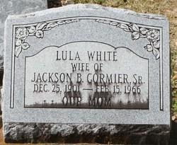 Lula <I>White</I> Cormier