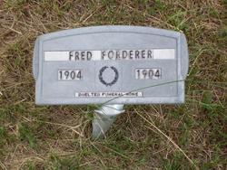 Fred Forderer