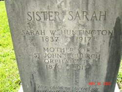 "Sarah W. ""Sister Sarah"" Huntington"
