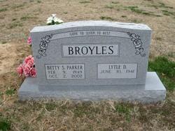 Betty S. <I>Parker</I> Broyles