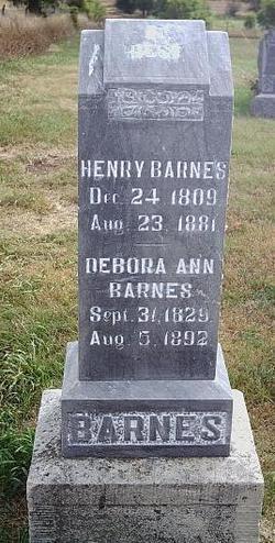 Deborah Ann <I>Gwin</I> Barnes