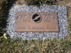 """Alva E """"Creamy"""" Allen"""